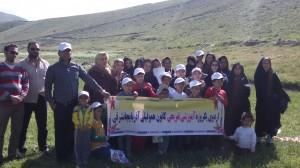 اردوی یکروزه آموزشی و تفریحی - دره هشت بهشت جاده پیست اسکی سهند 18 خرداد 94